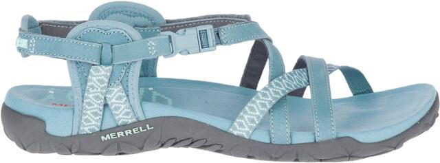 Merrell Women's Terran Lattice II Sandals Black Slate
